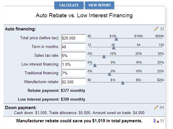 car-finance-tool