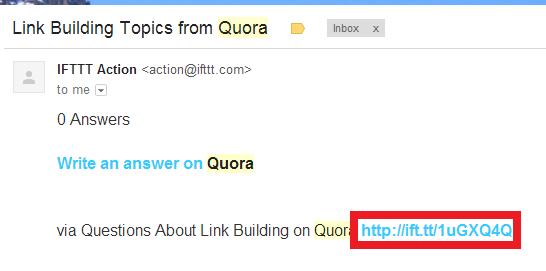 quora-ifttt