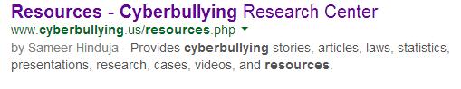 cyberbullying-resource