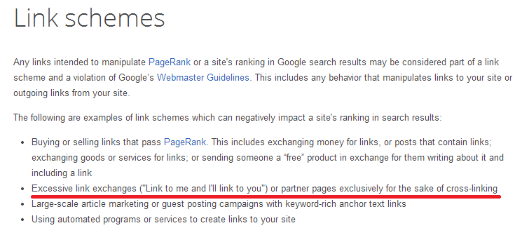 link-schemes-page