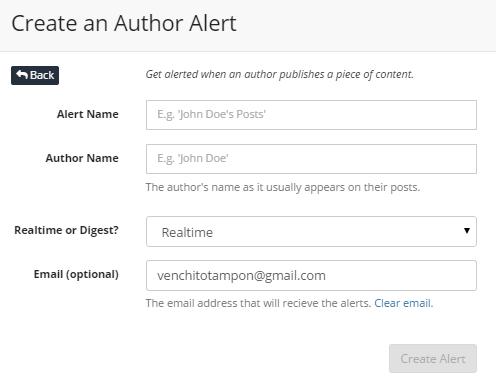 author-alert