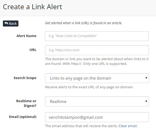 link-alert