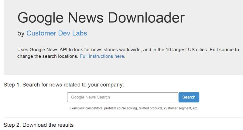 google-news-downloader