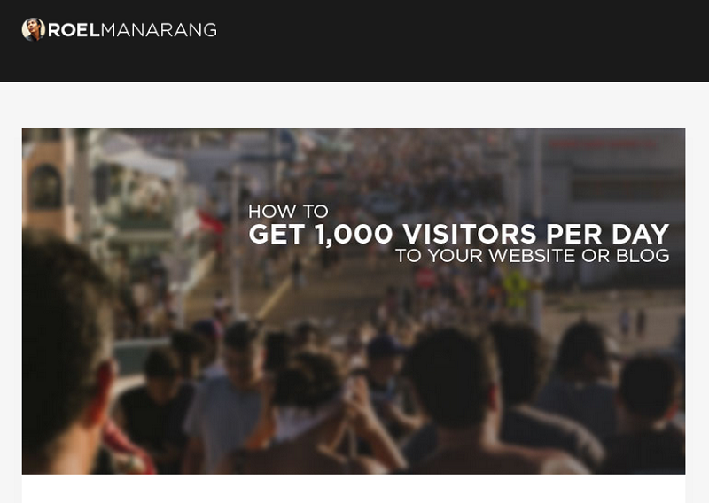 roel-manarang-1000-visitors-a-day-post