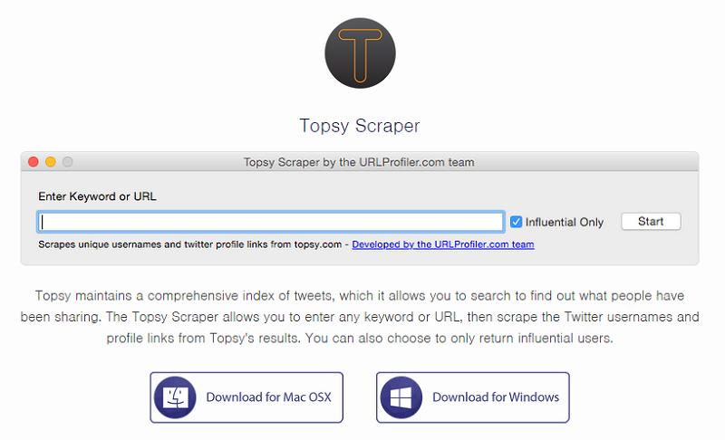 topsy-scraper
