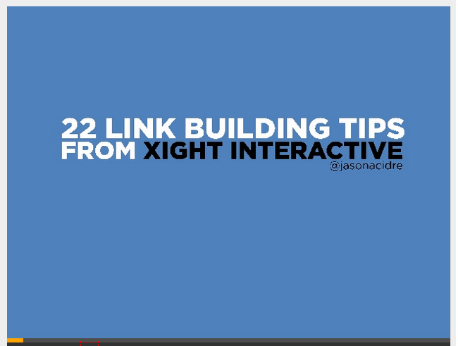 22-link-building-tips-slideshare
