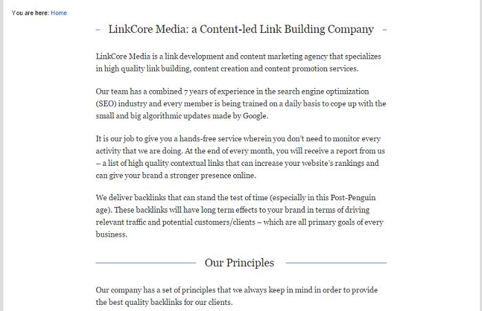 linkcoremedia-branded-page