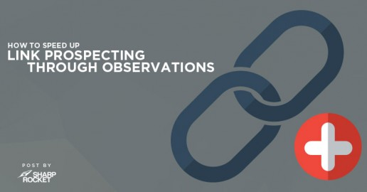 link prospecting through observations