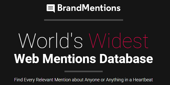 brandmentions homepage