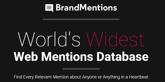 brandmentions homepage