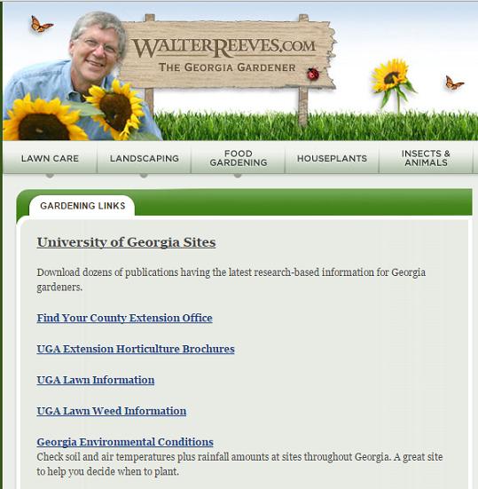 gardening resource page links