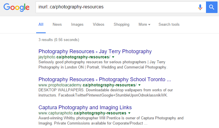 inurl-ca-photography-resources