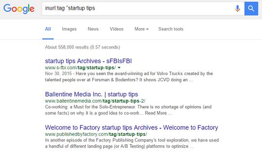 inurl tag google search