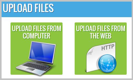upload files speechpad
