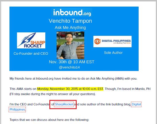 inbound org community backlink