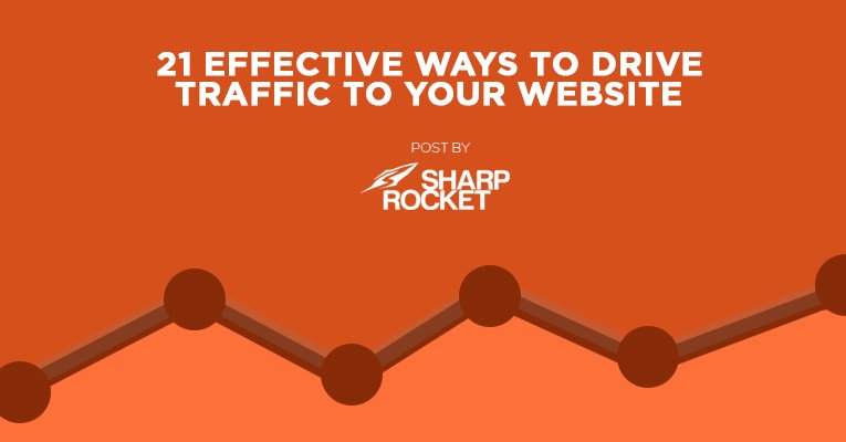 21 effective ways to drive traffic to your website