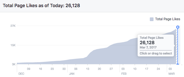 facebook page statistics