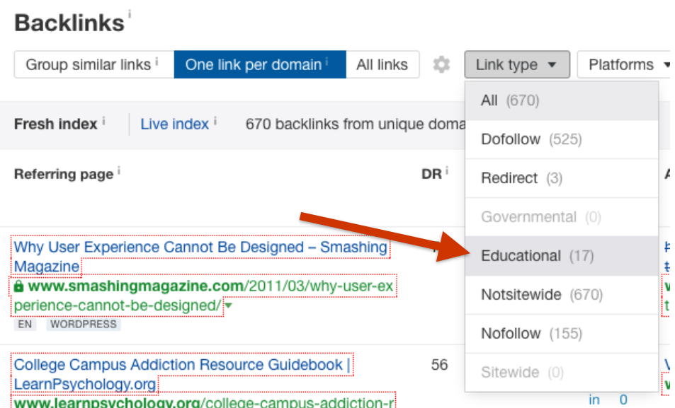 ahrefs-filter-edu-links