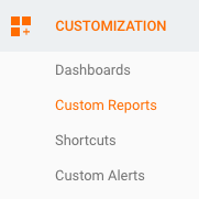 customization - custom reports