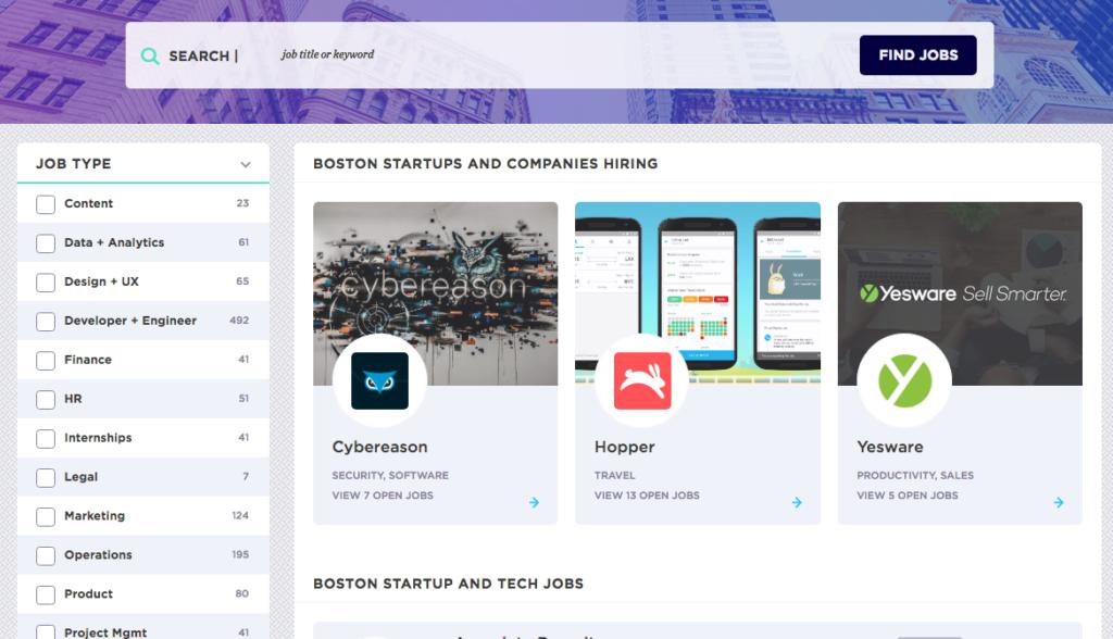 boston tech jobs