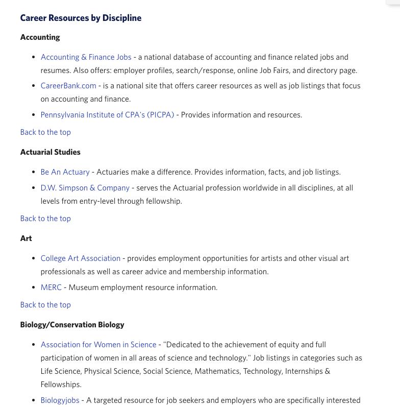 subtopics resource page