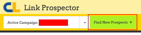 find new prospects link prospector