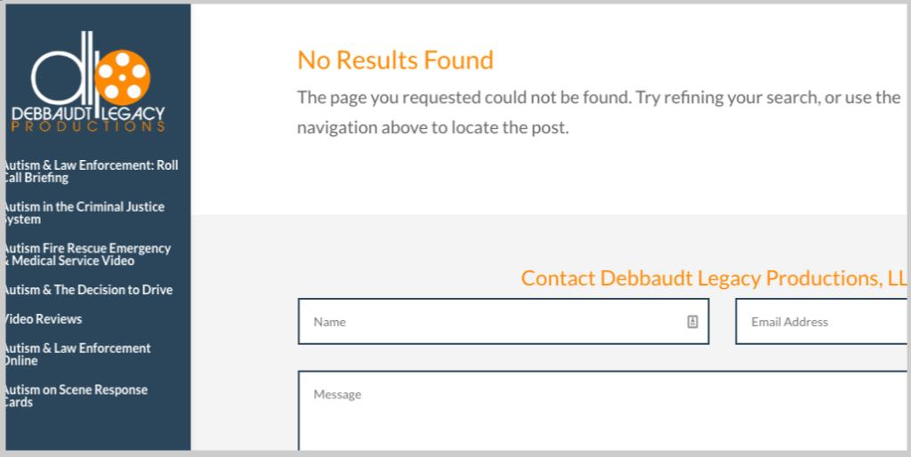 homepage link response