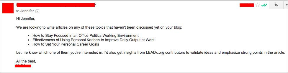 send topics pitch