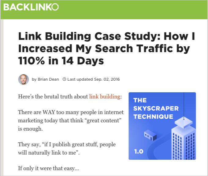 skyscraper technique article