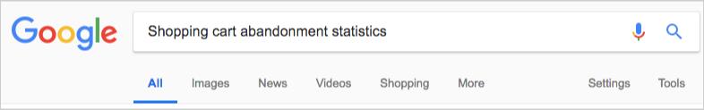 google statistics report