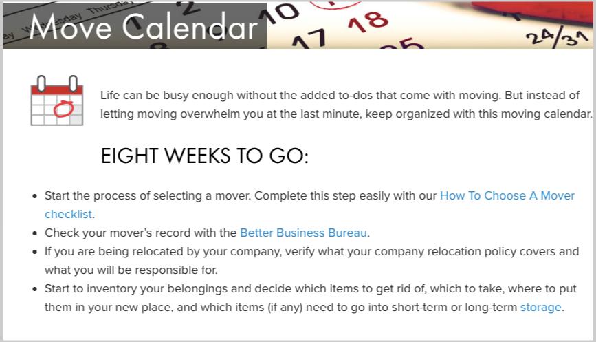 move calendar