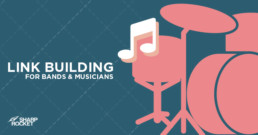 link building for bands and musicians