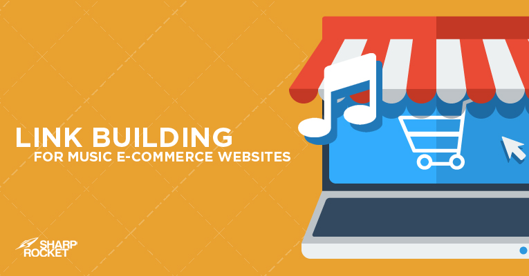 link building music ecommerce