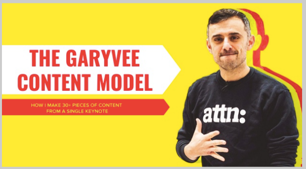 garyvee content marketing model