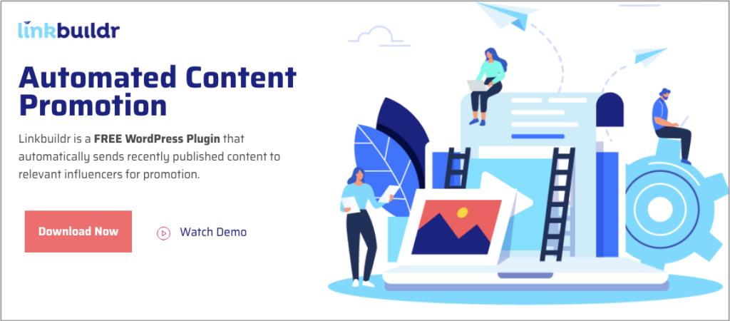 linkbuildr content promotion tool