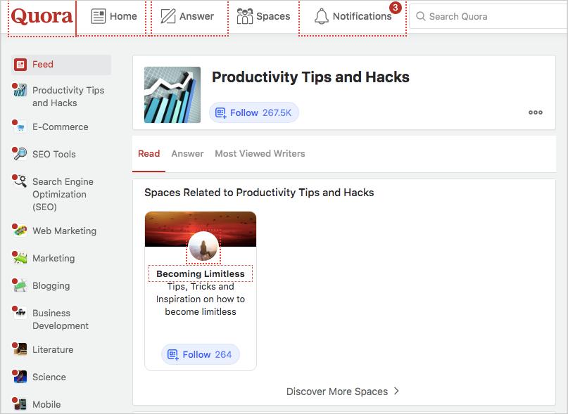 quora productivity