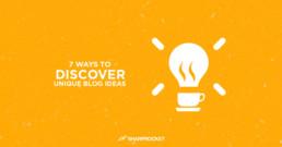 unique blog ideas