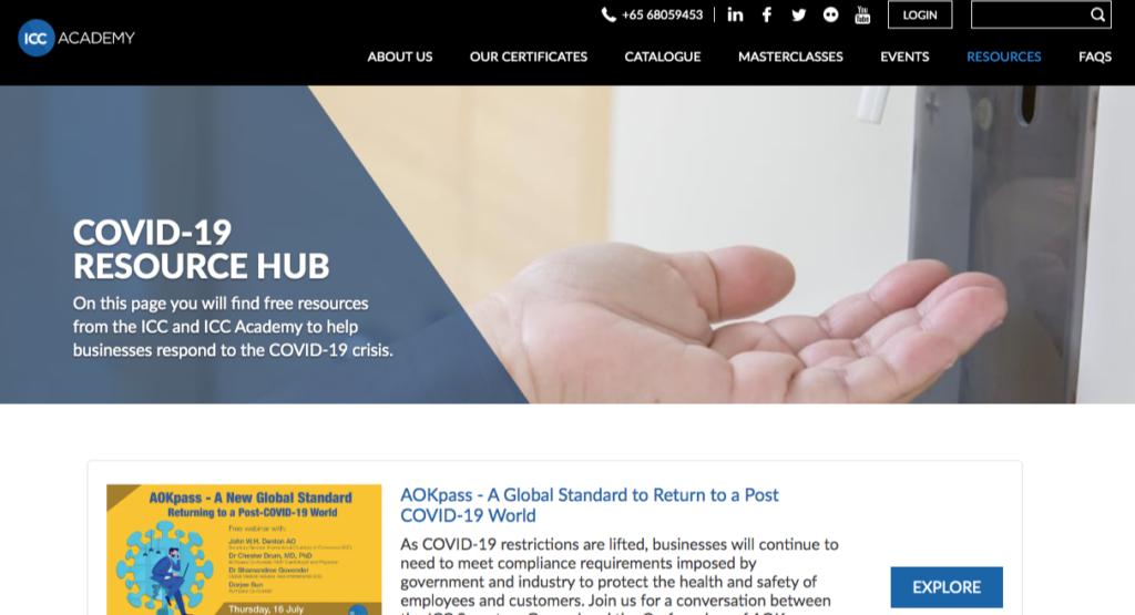 covid 19 resources hub