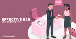 b2b link building tips