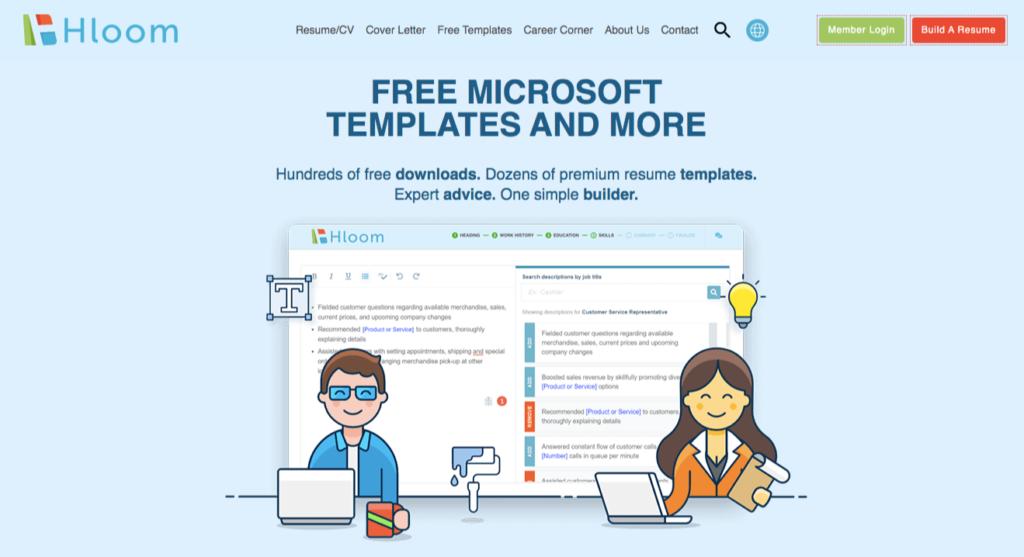 hloom templates