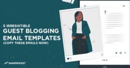 guest blogging templates