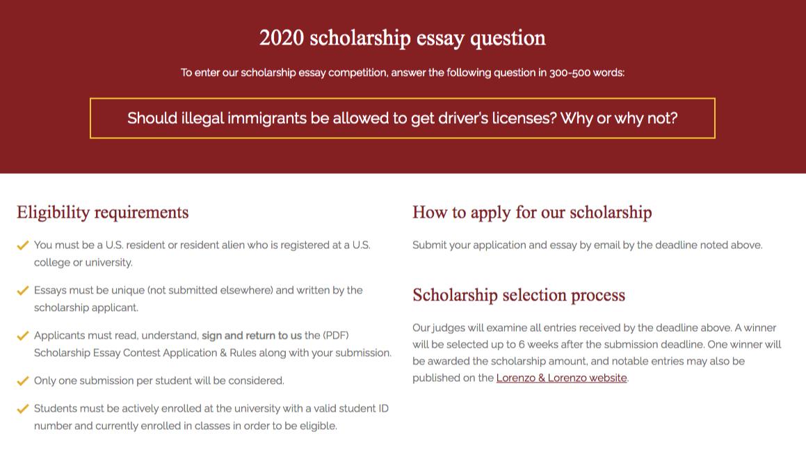 legal scholarship 2