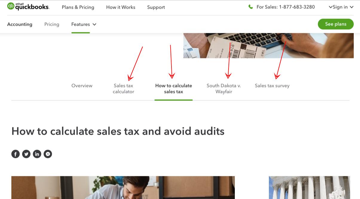 quickbooks sales tax