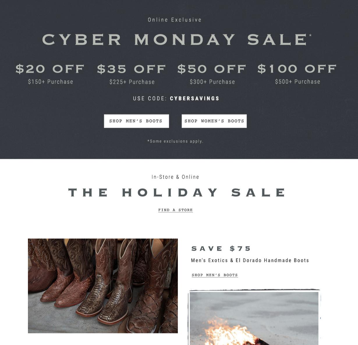 cyber monday marketing ecommerce