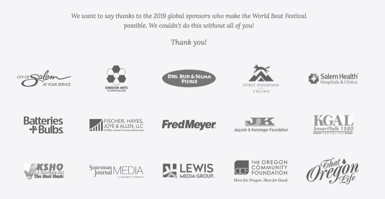 live sponsorship links