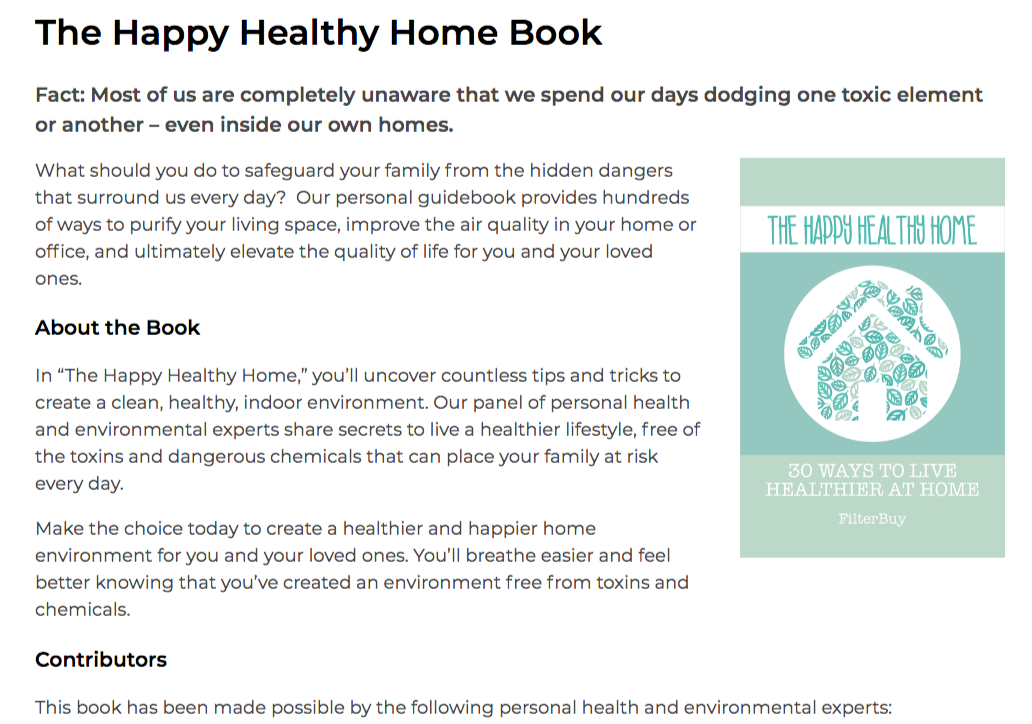 the happy health home book