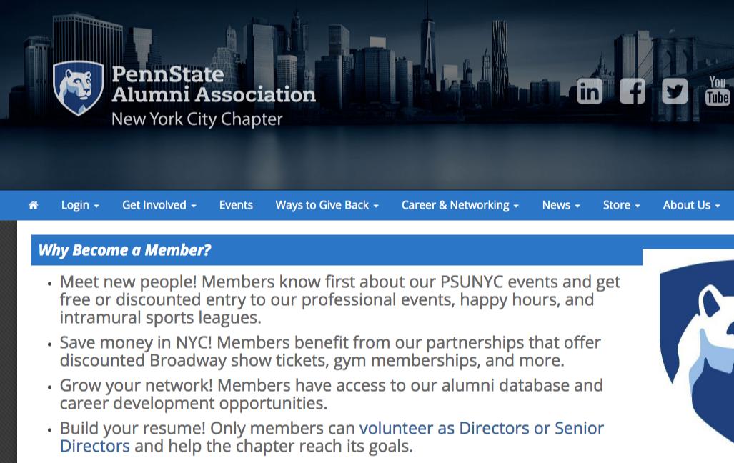 alumni association member benefits