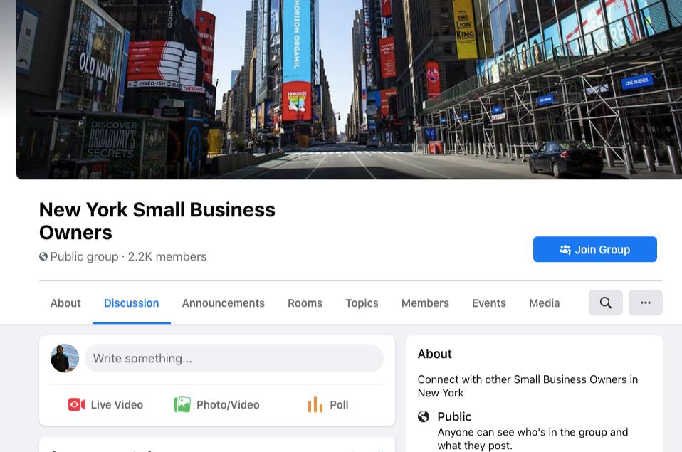 new york smes facebook group